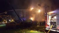 Un incendio quema el escenario principal de Tomorrowland Barcelona