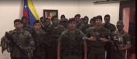 Militares al norte de Venezuela se declaran en