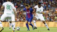 El Barcelona golea al Chapecoense en el homenaje del Gamper