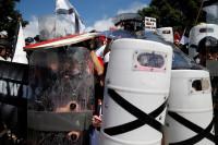 Tres detenidos en relación con las protestas y la violencia en Charlottesville