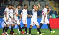 Escudero y Ben Yedder encaminan la 'Champions' a Sevilla