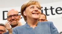 Las proyecciones confirman la victoria de Merkel y la irrupción de AfD en el Bundestag