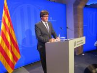 Puigdemont no precisa si declaró la independencia