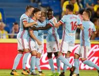 Un 'hat-trick' de Aspas lidera la contundente victoria del Celta ante Las Palmas (2-5)