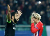 El Atlético empata en Bakú y se queda al borde del abismo