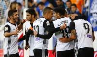 El Valencia sigue lanzado y el Sevilla sale del bache ante el Leganés