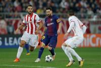 El Barça no saca el billete en El Pireo
