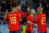 España pasa con nota el examen ante Costa Rica