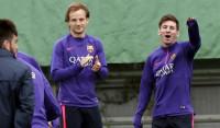 Juve-Barça, duelo directo por pase y liderato