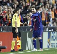Betfair da por válido el gol de Messi en Mestalla y paga las apuestas por la victoria del FC Barcelona