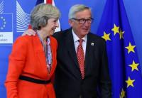 Juncker y May cierran un acuerdo sobre la prioridades del divorcio del Brexit