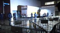 Técnicos del Gobierno de Aragón embalan los 44 bienes de Sijena en el Museo de Lleida