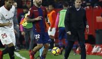 El Sevilla se queda sin pólvora ante el Levante en la vuelta de Berizzo