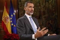El Rey llama a los partidos catalanes a no volver al