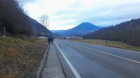 Puigdemont publica una imagen en Instagram de una carretera catalana cercana a la frontera