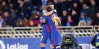 Suárez se acerca a Messi en el Pichichi