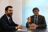Torrent convoca el pleno de investidura de Puigdemont para el martes