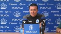 Cristóbal Parralo, destituido como entrenador del Deportivo