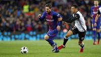 Mestalla ansía remontada y el Barça su quinta final seguida