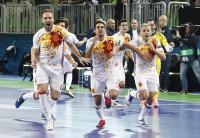 España se cita en la final con la Portugal de Ricardinho