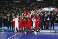 Portugal destrona a España del fútbol sala europeo