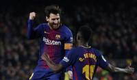Messi y Suárez se lucen en el 'nuevo derbi' catalán