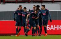 El Atlético, a cuartos con una nueva y espléndida goleada