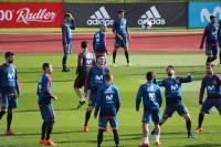 España, concentrada en Las Rozas para preparar los partidos ante Alemania y Argentina