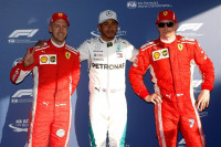 Hamilton consigue la primera pole del año y Sainz y Alonso saldrán noveno y décimo