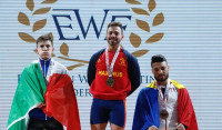 Josué Brachi se proclama campeón de Europa de halterfofilia