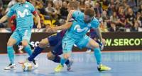 Movistar Inter sale más líder del Palau Blaugrana