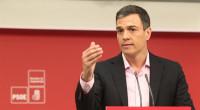 Pedro Sánchez apoya la moción de censura del PSOE madrileño contra Cifuentes