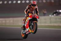 Marc Márquez manda con autoridad en los segundos entrenamientos libres de MotoGP