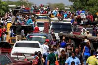 Colombia se convierte en la puerta de entrada de los venezolanos que huyen del