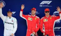 Vettel y Ferrari conquistan la pole en territorio Mercedes