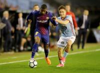 Ni el Celta puede con el 'plan B' de un Barça en inferioridad