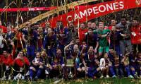 El Barcelona es campeón de la Copa del Rey por incomparecencia del Sevilla (0-5)
