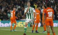 Fabián hace realidad el sueño europeo del Betis