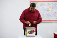Maduro es reelegido presidente de Venezuela, según datos del CNE