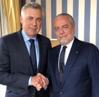 Carlo Ancelotti dirigirá al Nápoles las tres próximas temporadas