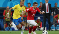 Brasil tampoco convence con su empate ante Suiza (1-1)