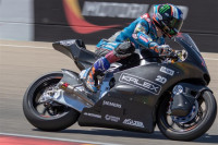 Álex Márquez prueba el futuro de Moto2 en MotorLand Aragón