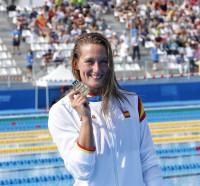 La natación y el piragüismo colocan a España segunda en el medallero de Tarragona 2018