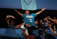 Maradona, trasladado al hospital tras el Nigeria-Argentina