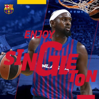 El Barça Lassa incorpora a Chris Singleton para esta temporada
