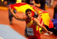 Saúl Ordóñez bate el récord de España en los 800 metros