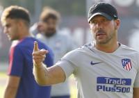El Atlético afina la pretemporada en Italia sin Diego Costa