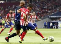 El Atleti no puede con el Inter en su saludo al Metropolitano
