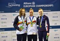 Con un triplete de oros, España alcanza las 16 medallas en el Europeo de natación paralímpica
