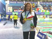 Nuria Marqués lidera otra jornada de medallas españolas en el Europeo de natación paralímpica
